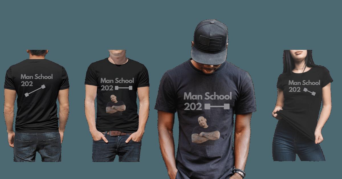 Man School 202 swag